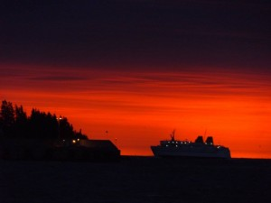 Sunrise over the Grand Manan V - By Chanci Russell